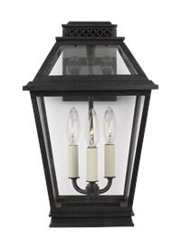 3 - Light Outdoor Wall Lantern