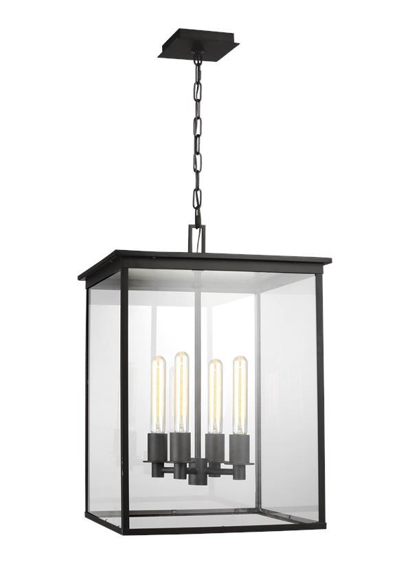 4 - Light Outdoor Hanging Lantern