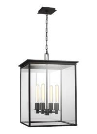 4 - Light Outdoor Hanging Lantern