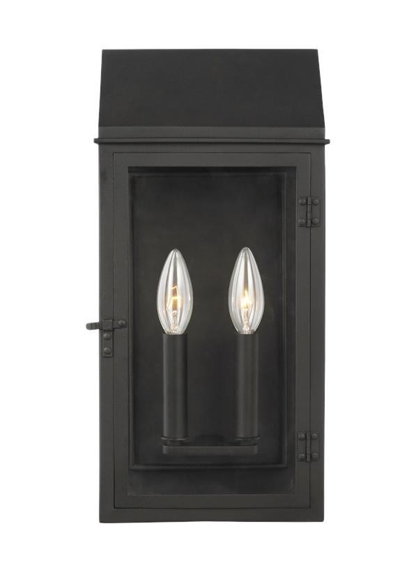 2 - Light Outdoor Wall Lantern