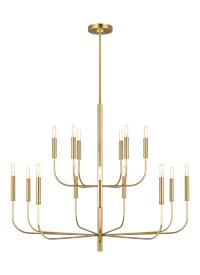 Large Two-Tier Chandelier