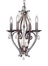 4 - Light Mini Chandelier