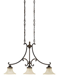3 - Light Island Chandelier