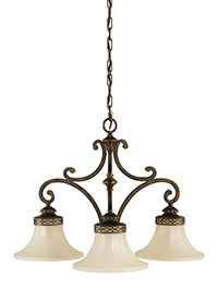 3 - Light Kitchen Chandelier