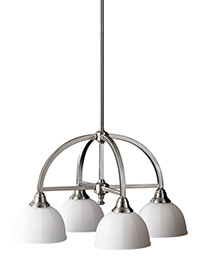 4 - Light Kitchen Chandelier