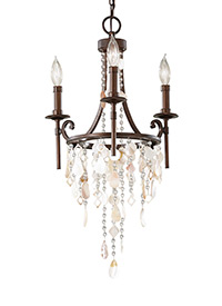 3 - Light Mini Chandelier