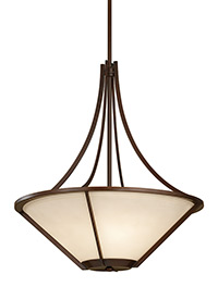 3 - Light Uplight Chandelier