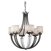 12 - Light Single Tier Chandelier