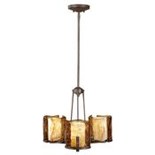 3 - Light Single Tier Chandelier