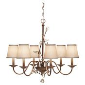 6 - Light Single Tier Chandelier
