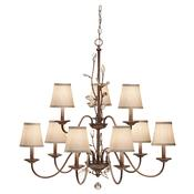 9 - Light Multi Tier Chandelier