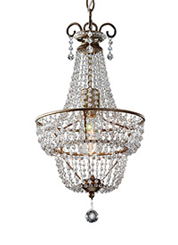 1-Light Chandelier