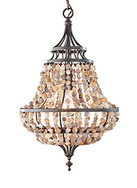 1 - Light Mini Chandelier