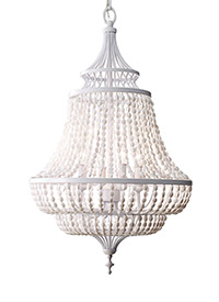 4 - Light Single Tier Chandelier