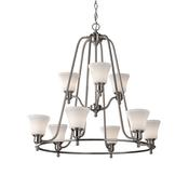 9 - Light Cumberland Chandelier