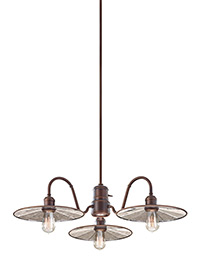 4 - Light Urban Renewal Chandelier