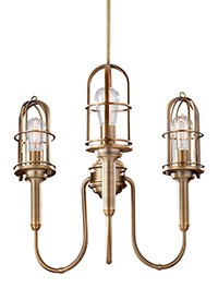 3 - Light Urban Renewal Chandelier