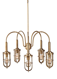 5 - Light Urban Renewal Chandelier