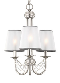 3 - Light Aveline Mini Chandelier