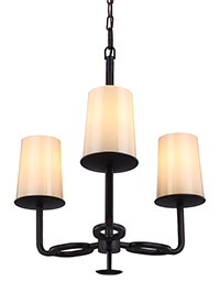 3 - Light Huntley Chandelier