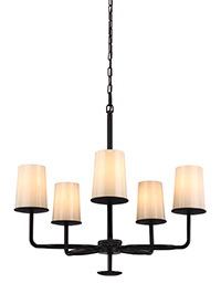 5 - Light Huntley Chandelier