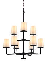 9 - Light Huntley Chandelier