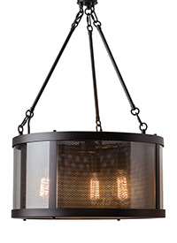 3 - Light Bluffton Chandelier