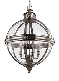 4 - Light Adams Chandelier