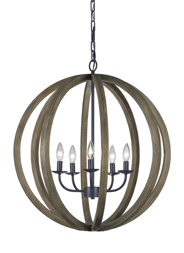 5 - Light Large Pendant