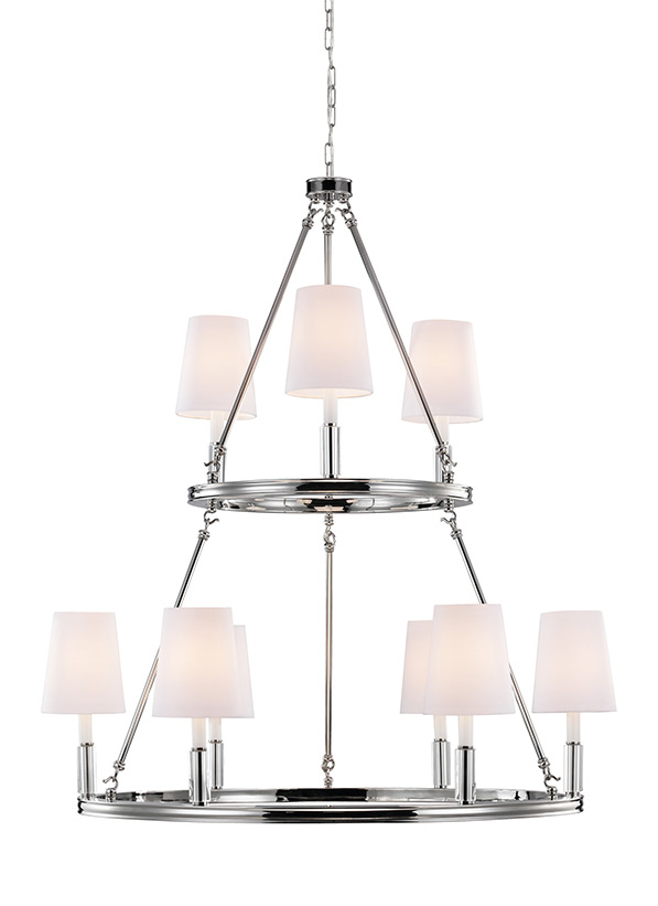 9 - Light Lismore Chandelier