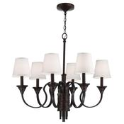 6 - Light Arbor Creek Chandelier