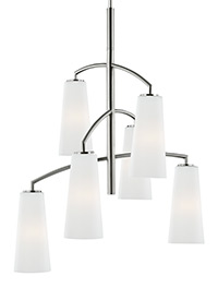 6 - Light Coddington Chandelier
