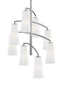 8 - Light Coddington Chandelier