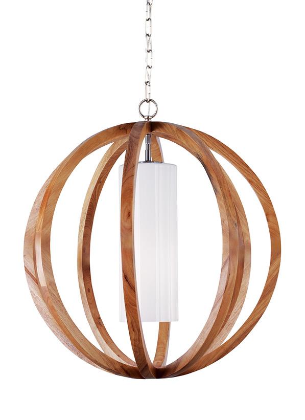 1 - Light Allier Large Pendant
