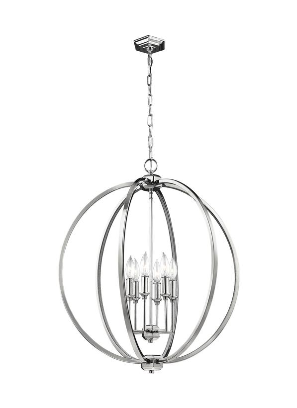 6 - Light Globe Pendant