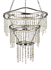 3 - Tier LED Chandelier