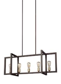 Medium Linear Chandelier