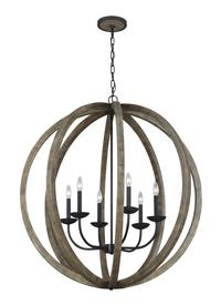 6 - Light Pendant Chandelier
