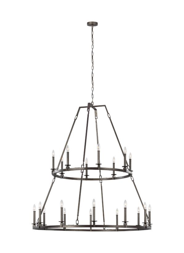Extra Large Two-Tier Chandelier