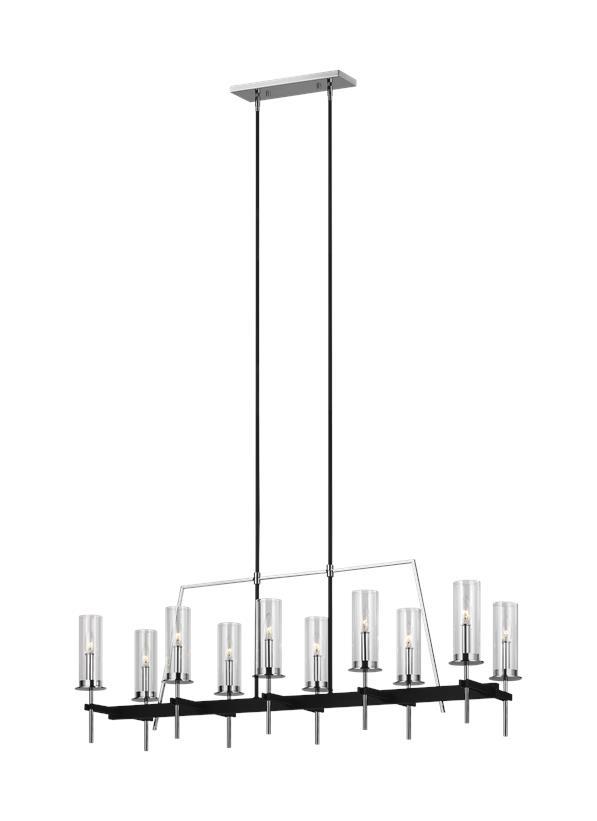10 - Light Linear Chandelier