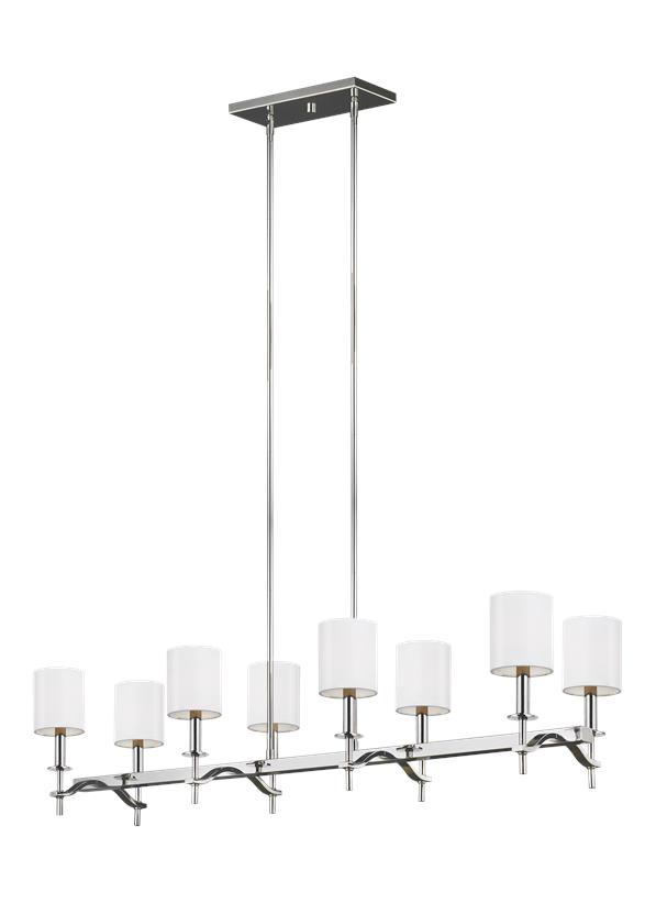8 - Light Linear Chandelier