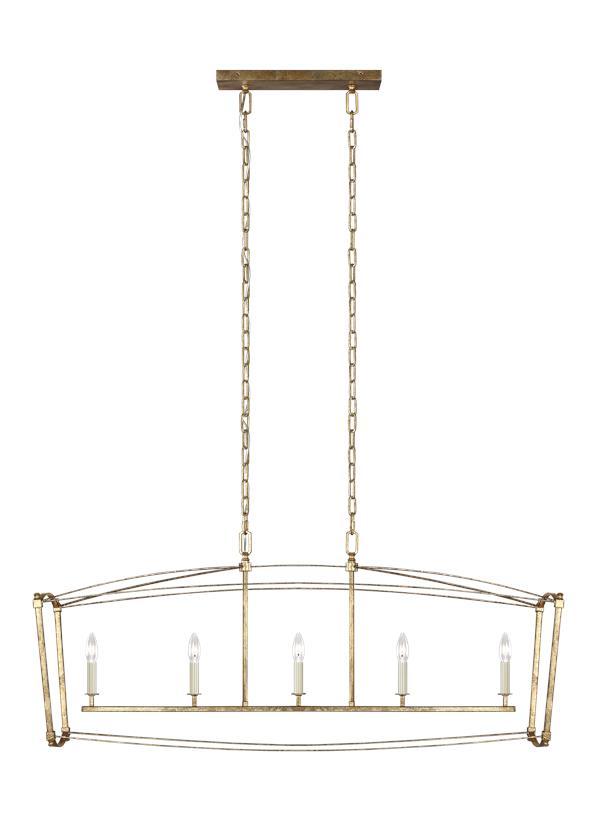 5 - Light Linear Chandelier