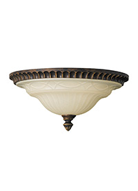 2-Light Drawing Room Ceiling Light