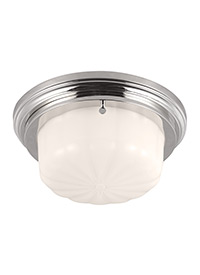 1 - Light Portia Flushmount