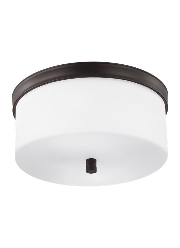2 - Light Lismore Flushmount
