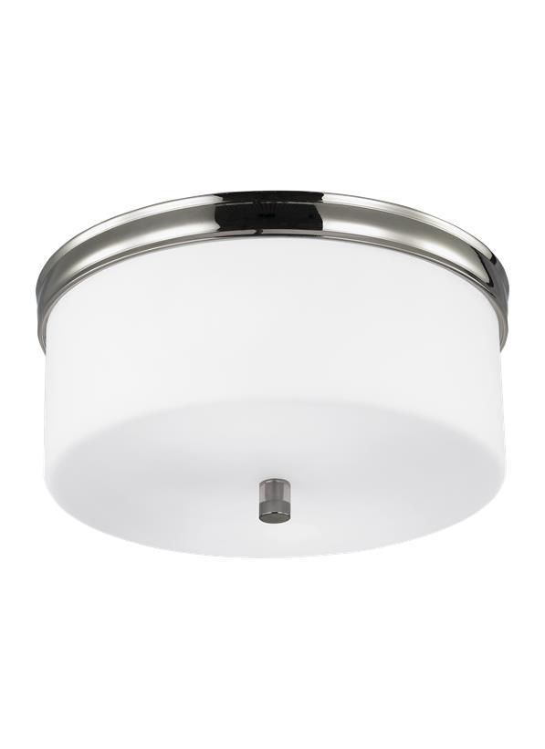 2 - Light Lismore Flushmount