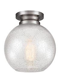 1 - Light Tabby Flushmount