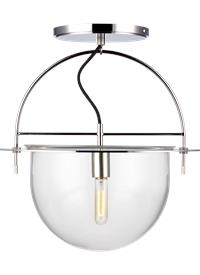 1 - Light Large Semi-Flush Mount