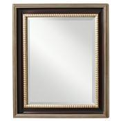 Mahogany Antique Silver Mirror