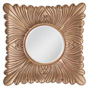 Medium Aged Wood Mirror